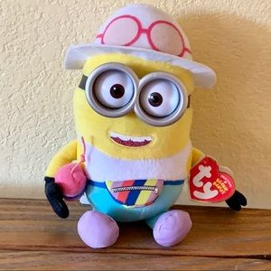 Despicable Me Jerry Minion Ty Beanie Baby